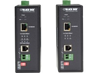 Black Box Hardened Power-over-Line (PoL) PoE Ethernet Extender Kit
