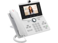 Cisco 8845 IP Phone - Refurbished - Wall Mountable - White