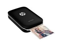 HP Sprocket Zero Ink Printer - Color - Photo Print - Portable - Black