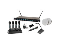 ClearOne 8-Channel WS880 Wireless Microphone System Receiver