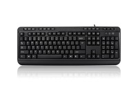 Adesso AKB-132HB- Multimedia Desktop Keyboard with 3-Port USB Hub