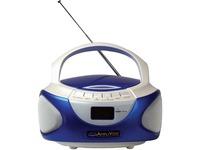 AmpliVox CD Boombox with Bluetooth