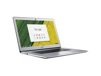 "Acer CB515-1HT CB515-1HT-P6W6 15.6"" Touchscreen Chromebook - Full HD - 1920 x 1080 - Intel Pentium N4200 Quad-core (4 Core) 1.10 GHz - 8 GB RAM - 64 GB Flash Memory - Pure Silver"