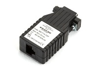 Black Box Async RS232 Extender over CATx - DB9 Male to RJ-45