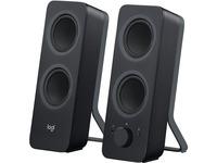Logitech Z207 Bluetooth Speaker System - 5 W RMS - Black