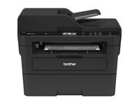 "Brother MFC-L2750DW Monochrome Compact Laser All-in-One Printer with 2.7"" Color Touchscreen, Single-pass Duplex Copy & Scan, and Wireless & NFC"