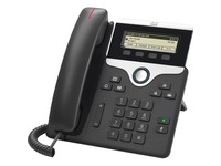 Cisco 7811 IP Phone - Refurbished - Corded - Corded - Wall Mountable, Desktop - Charcoal