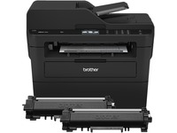 Brother MFC-L2750DW XL Extended Print Compact Laser All-in-One Printer with up to 2 Years of Toner In-box