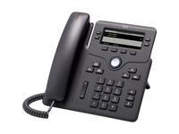 Cisco 6851 IP Phone - Corded - Charcoal