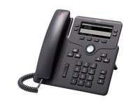 Cisco 6851 IP Phone - Corded - Charcoal
