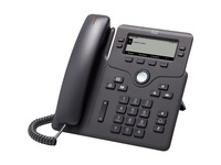 Cisco 6841 IP Phone - Corded - Corded - Charcoal