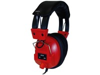 AVID AE-808 SWITCHABLE STEREO/MONO RED HEADPHONE