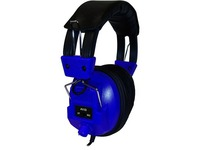 AVID AE-808 SWITCHABLE STEREO/MONO BLUE HEADPHONE