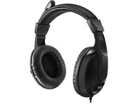 Adesso Xtream H5 - 3.5mm Stereo Headset with Microphone - Noise Cancelling - Wired- Lightweight