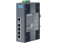 Advantech 5-port Switch with 4 port-PoE and 24/48 V DC Power Input