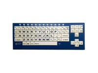 Ablenet BigBlu VisionBoard Large Keys Bluetooth Black Print on 1-in/2.5-cm White Keys