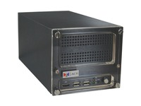 ACTi 4-Channel 2-Bay Desktop Standalone NVR with 4-port PoE Connectors