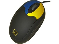 Ablenet Tiny Mouse with 2 Buttons and Scroll Wheel, Wired. Half the size of a standard mouse