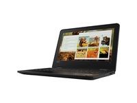 "Lenovo ThinkPad 11e 5th Gen 20LQ0002US 11.6"" Touchscreen Netbook - 1366 x 768 - Intel Core M 7th Gen m3-7Y30 Dual-core (2 Core) 1 GHz - 4 GB RAM - 128 GB SSD - Graphite Black"