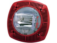 Bosch G-SSPK24WLPR Wall Speaker/Strobe 15-110cd 24V, Red