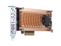 QNAP QM2-2P-384 M.2 to PCI Express Adapter