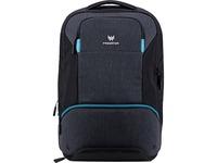 "Acer Carrying Case (Backpack) for 15.6"" Notebook - Black, Teal Blue"