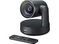 Logitech Video Conferencing Camera - 13 Megapixel - 60 fps - Matte Black, Slate Gray - USB 3.0