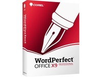 Corel WordPerfect Office X9 Professional Edition - Box Pack - 1 User