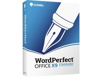 Corel WordPerfect Office v.X9 Standard Edition - Box Pack (Upgrade) - 1 User