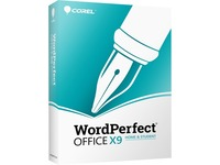 Corel WordPerfect Office v.X9 Home & Student Edition - Box Pack - 1 User