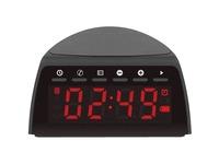 Aluratek ABQC01F Clock Radio - Stereo