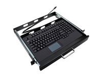 Adesso EasyTouch 425UB-MRP - Touchpad Keyboard w/ Rackmount