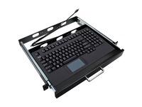 Adesso EasyTouch 425UB-MRP - Touchpad Keyboard w/ Rackmount