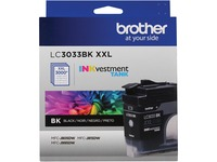 Brother Genuine LC3033BKS Single Pack Super High-yield Black INKvestment Tank Ink Cartridge