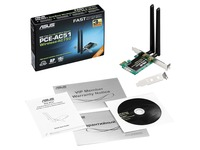 Asus PCE-AC51 IEEE 802.11ac - Wi-Fi Adapter for Server/Switch/Desktop Computer/Notebook