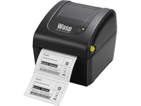Wasp WPL206 Direct Thermal Printer - Monochrome - Desktop - Label Print - USB