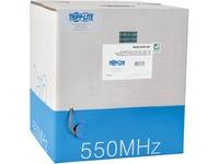 Tripp Lite 1000FT PVC CMR CAT 6 SOLID UTP BULK CABLE Gray 1000'