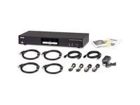 ATEN 2-Port USB 3.0 4K DisplayPort Dual Display KVMP Switch-TAA Compliant