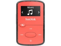 SanDisk Clip Jam SDMX26-008G-G46R 8 GB Flash MP3 Player - Red