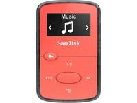 SanDisk Clip Jam SDMX26-008G-G46R 8 GB Flash MP3 Player - Red