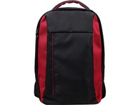 "Acer Carrying Case (Backpack) for 15.6"" Acer Notebook, Tablet - Black with Red Accent"