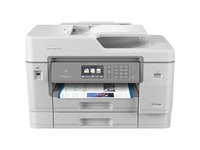 """Brother MFC-J6945DW INKvestment Tank Color Inkjet All-in-One Printer with Wireless, Duplex Printing, NFC, 11"""" x 17"""" Scan Glass and Up to 1-Year of Ink In-box"""
