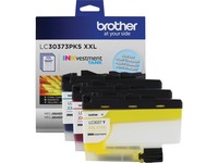 Brother Genuine LC30373PKS 3-Pack Super High-yield INKvestment Tank Cartridges; includes 1 cartridge each of Cyan, Magenta & Yellow