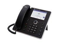 AudioCodes C450HD IP Phone - Corded - Corded - Desktop - Black