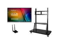 "Viewsonic IFP6550-E2 - 65"" ViewBoard 4K Ultra HD Interactive Flat Panel Bundle"