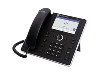 AudioCodes C450HD IP Phone - Corded - Corded/Cordless - Wi-Fi, Bluetooth - Desktop - Black