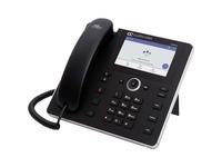 AudioCodes C450HD IP Phone - Corded - Corded/Cordless - Wi-Fi, Bluetooth - Desktop - Black