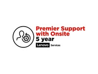 Lenovo On-Site + Premier Support - 5 Year Extended Service - Service