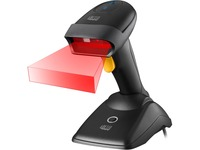 Adesso NuScan 2500TU Spill Resistant Antimicrobial 2D Barcode Scanner