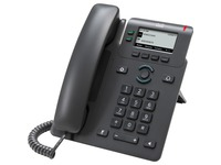 Cisco 6821 IP Phone - Corded - Corded - Wall Mountable, Desktop - Charcoal